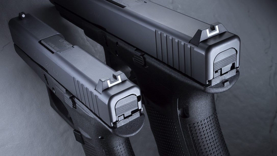 Glock 41 Gen4 and Glock 42 rear sights