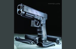 Glock 41 Gen4 with interchangeable backstraps
