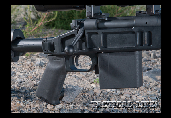 H-S Precision TAC FOLDER .308 with a Magpul CTR buttstock