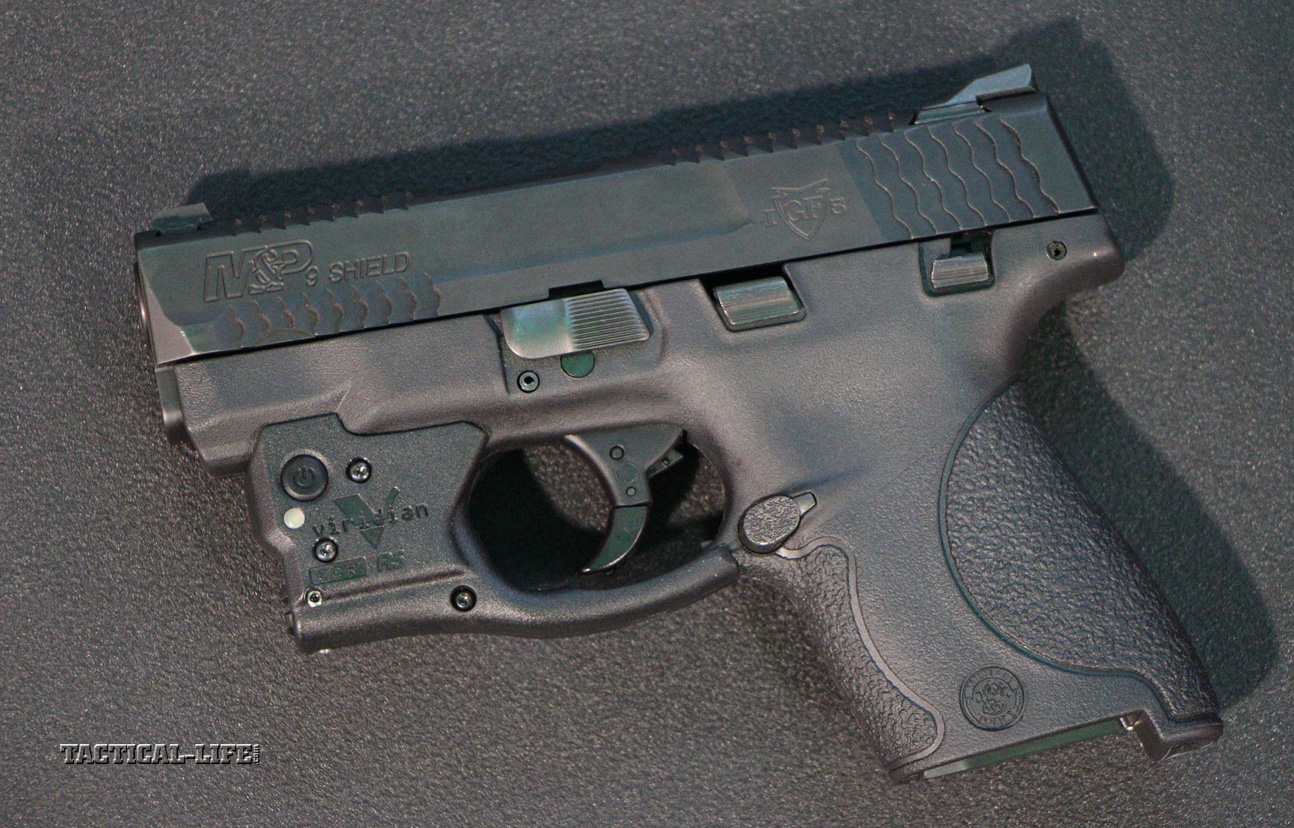 Lights, Lasers & Optics - New for 2014 | Viridian R5 and R5-R for Smith & Wesson Shield