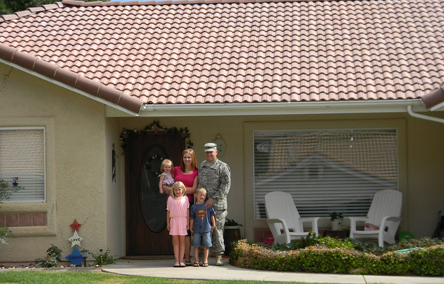 The Pentagon Federal Credit Union Foundation has awarded military families with grants to help with costs associated with buying a home.