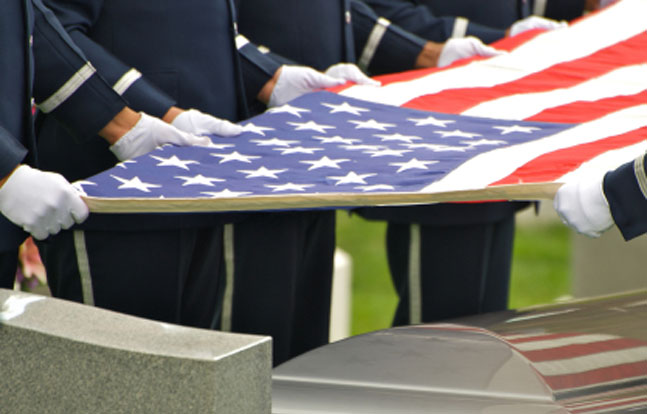 A U.S. Marine killed during World War II has finally received military funeral honors.