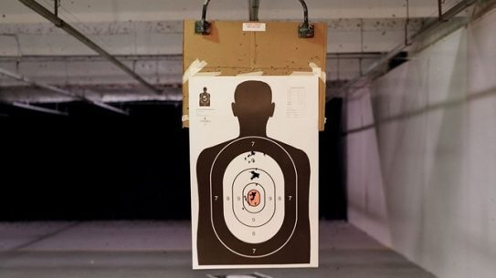 A new eight-lane indoor shooting range is opening up soon in Harrisburg, Ill. at the site of a former AMC movie theater.