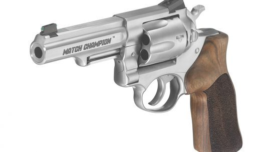 Ruger GP100 Match Champion Double-Action Revolver