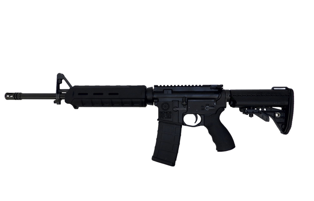 Top 25 AR Rifles for 2014 | SIONICS Patrol Rifle Zero