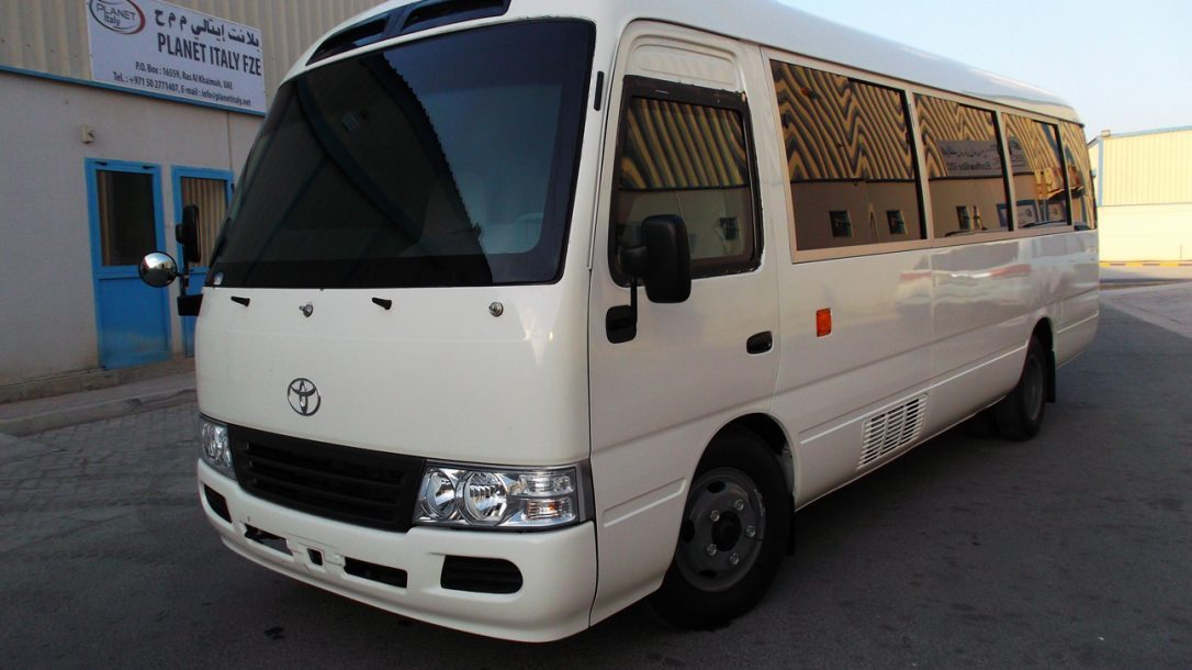 The Armored Group - Toyota Coaster Bus