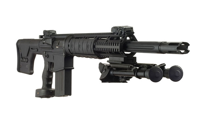 Top 25 AR Rifles for 2014 | DPMS GII .308 SASS