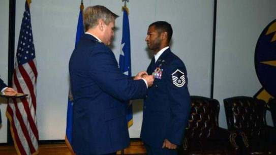 USAF Recognizes Silver Star Recipients