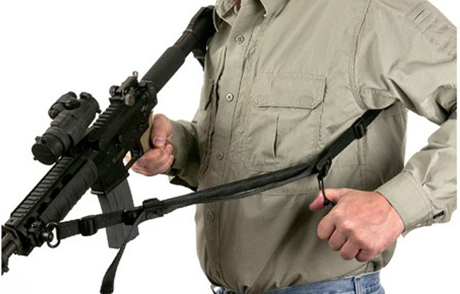 Vero Tactical Two-Point Sling deployed