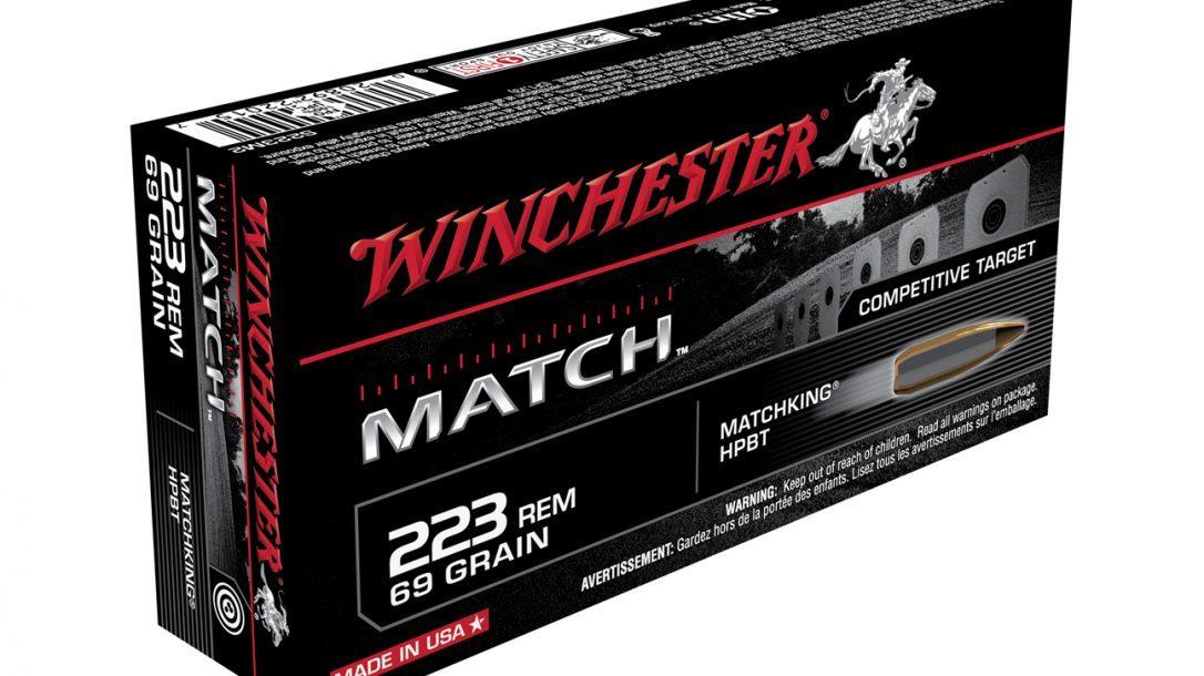 Winchester Match Ammo .223