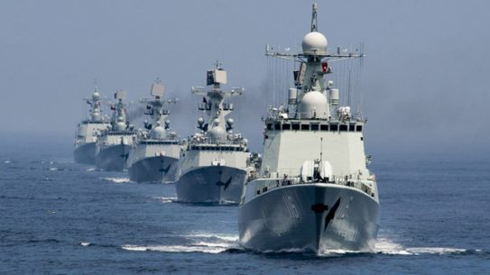 China has begun conducting naval drills in the South China Sea amid territorial disputes with several other nations.
