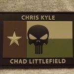 Chris Kyle/Chad Littlefield Memorial Patch - Green