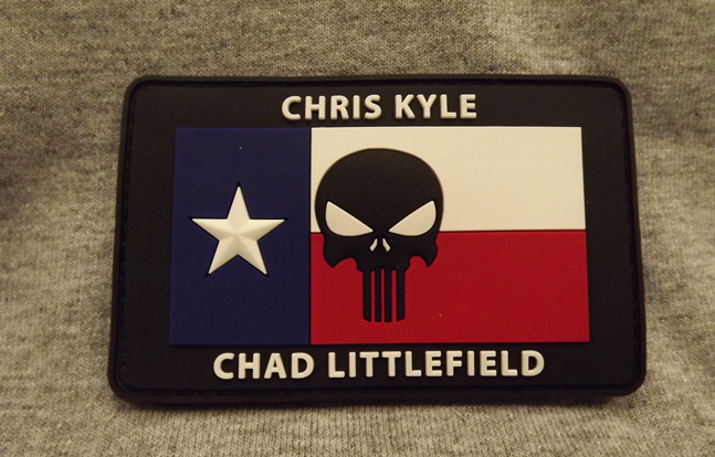 Chris Kyle/Chad Littlefield Memorial Patch - Red