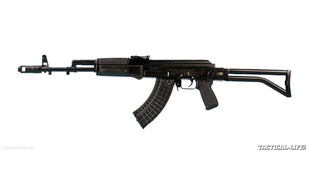 8 New AK Rifles For 2014 | Arsenal SAM7SF Left Side