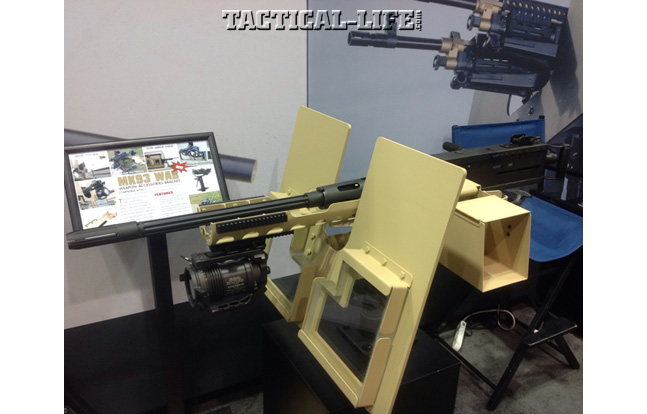 AUSA Winter Expo | CWA M3D Machine Gun