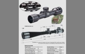 BSA TW4X30 Tactical Weapon Scope