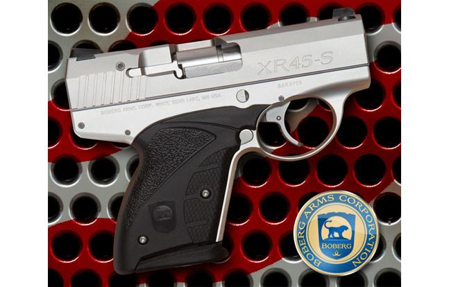 12 New Compact & Subcompact Handguns For 2014 | Boberg XR45-S