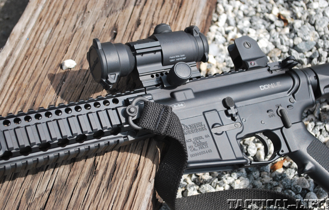 Daniel Defense SSP review optics