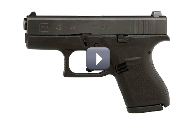 Glock G42 380 Acp And G41 Gen4 45 Acp Pistols New For