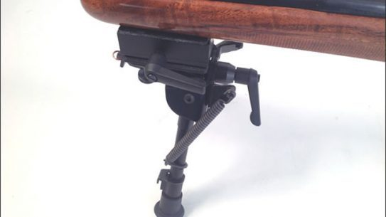 Harris Bipods RotaPod Mounted