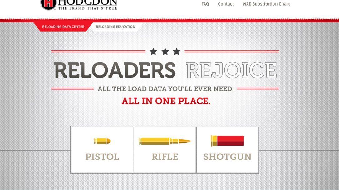 Hodgdon Reloading Data Center