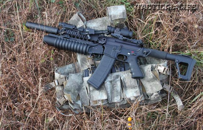 LMT M203 Grenade Launcher