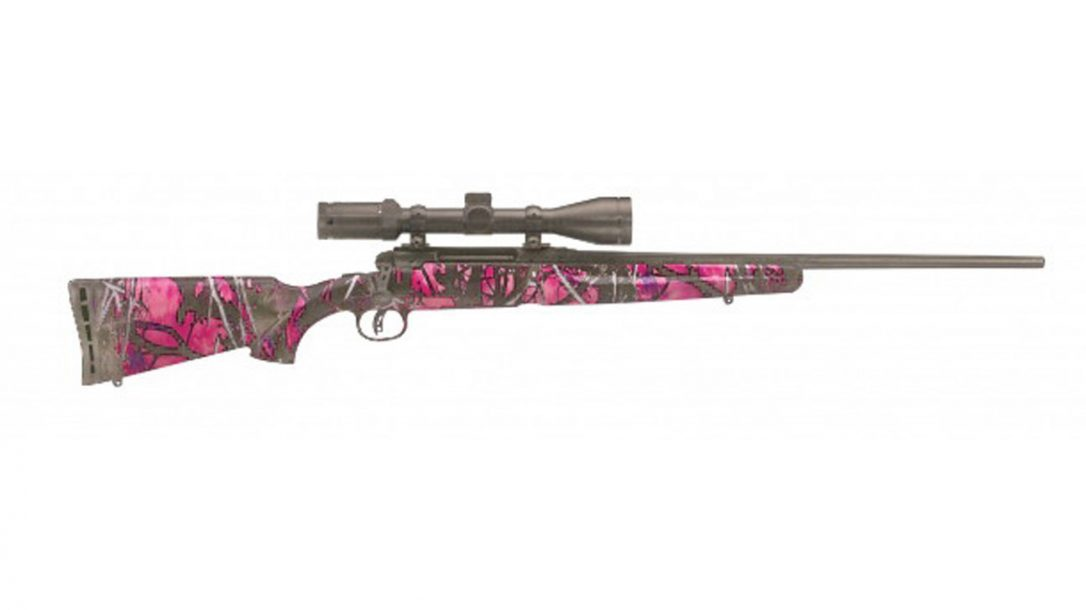 New Sporting Rifles for 2014 - Savage Muddy Girl Youth