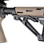 Hogue Rubber OverMolded Collapsible Buttstock | Desert Tan