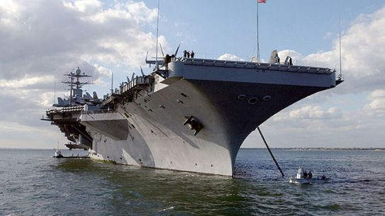 US, French Navies Finish Carrier Strike Group Exercises