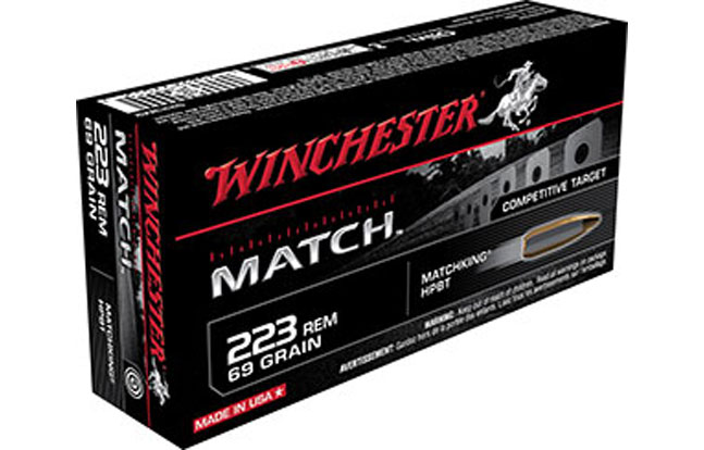 Winchester Match Ammo for Rifles