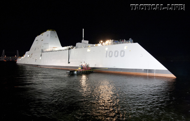 Zumwalt DDG-1000 Destroyer