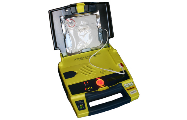 Local Missouri law enforcement agencies received multiple Automated External Defibrillators (AEDs) for emergency situations.