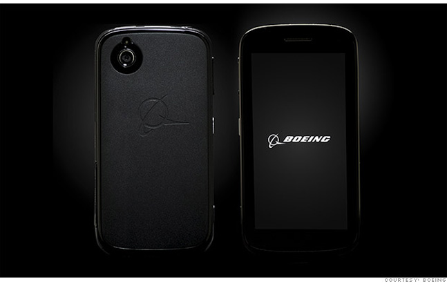 Boeing will soon debut a new smartphone which will automatically self-destruct if compromised.