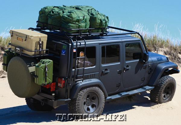2012 Four-Door Jeep Wrangler JK Sahara | Tactical Operations