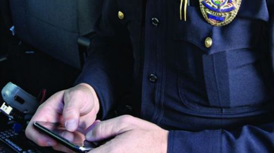 California Attorney General Kamala Harris announced a new 'JusticeMobile' app which lets LEOs to download criminal records to their smartphones.