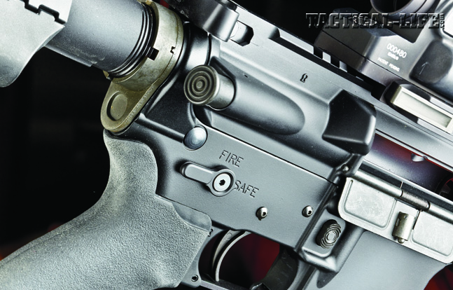 The Tactical Elite features an ambidextrous safety.
