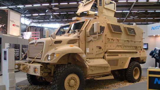 Police in South Portland, Maine recently acquired a MaxxPro MRAP vehicle.