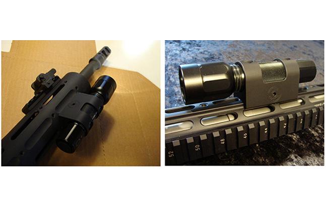 MHA Custom Brightshot Flashlight Mount
