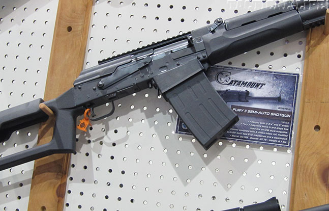 12 New Tactical Shotguns For 2014 - Catamount Fury II Profile Closeup