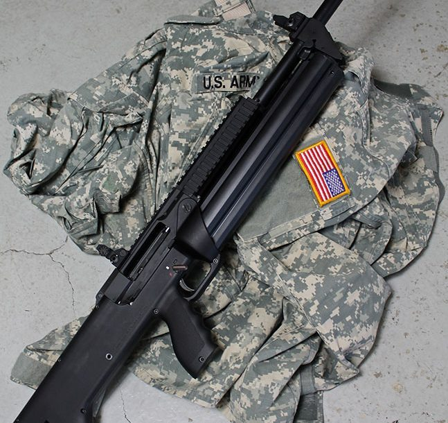 12 New Tactical Shotguns For 2014 - SRM Model 1216 Gen 2 Right Side