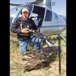 This old, scarred boar weighed well over 200 pounds and didn't make it far after receiving a dose of 300 AAC Blackout.