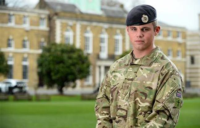 Sapper James McDermott | Corporal Si Longworth RLC