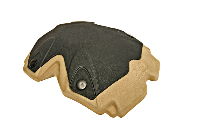D3O polymer materials can increase the protective capabilities of knee pads.
