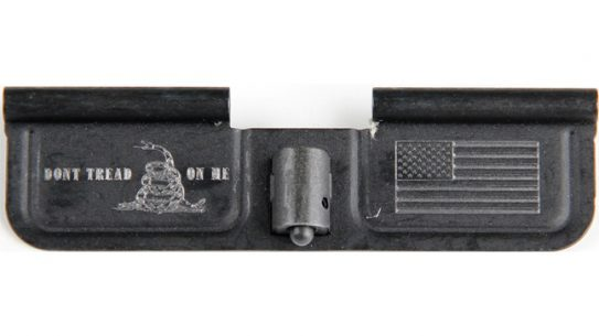 Harford Engraving Service AR15 Firearm Ejection Port Gadsden