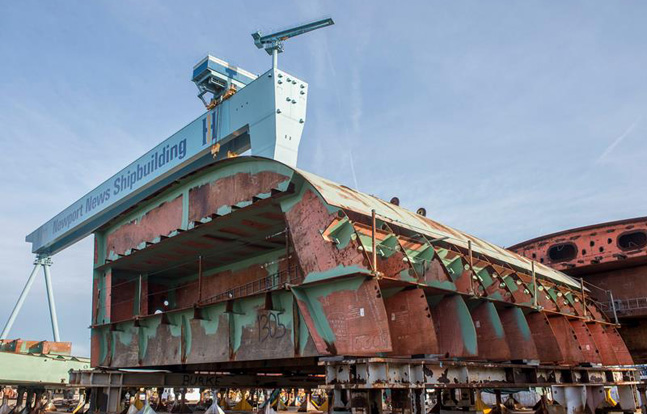 Newport News Shipbuilding has been awarded a $1.3 billion contract by the U.S. Navy to continue work on the aircraft carrier USS John F. Kennedy (CVN-79).