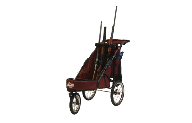 Rugged Gear 3-Gun Muzzles Up Standard Shooting Cart