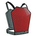 The StressVest, which offers an effective means of providing instant-feedback-oriented training, features panels that read strikes from laser beams.