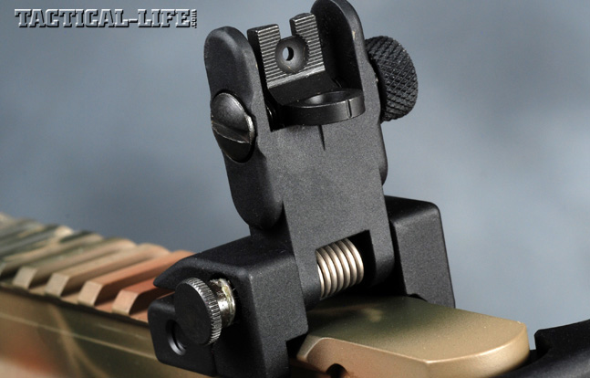Wilson Combat 5.56mm Paul Howe Tactical Carbine Rear Sight