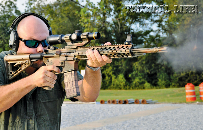 With its Wilson two-stage Tactical Trigger Unit, match-grade barrel and more, the Paul Howe Tactical Carbine proved accurate and reliable with a variety of ammunition.