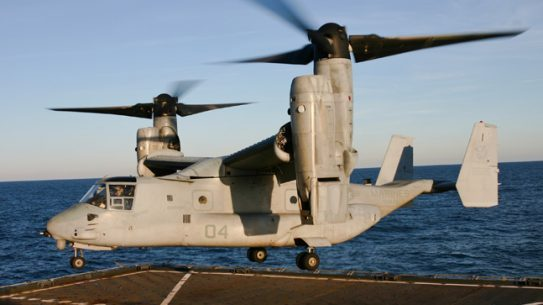 Japan hopes to establish a new unit devoted to amphibious operations, which would include using the V-22 Osprey tilt-rotor aircraft